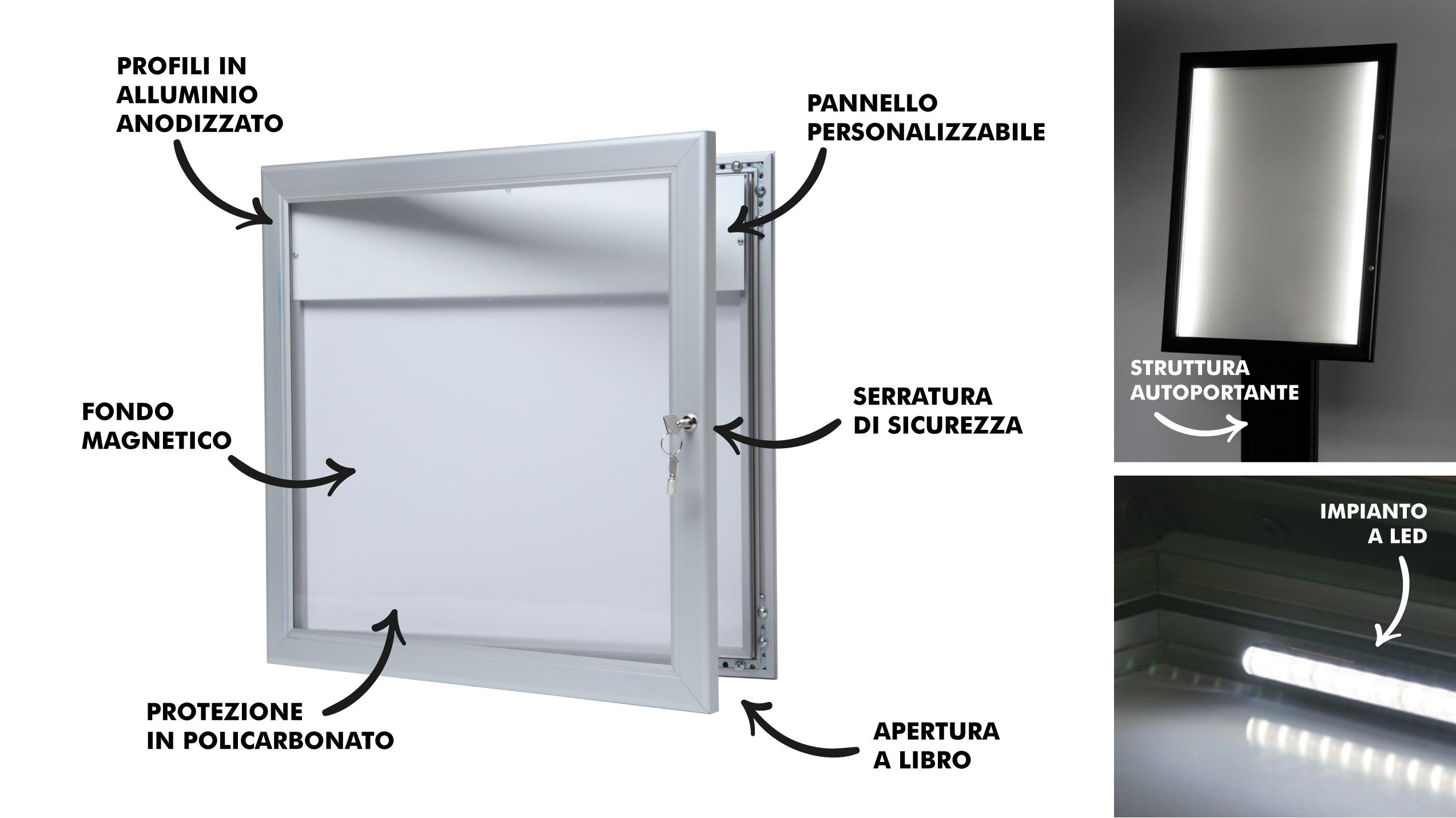 porta menu da esterno